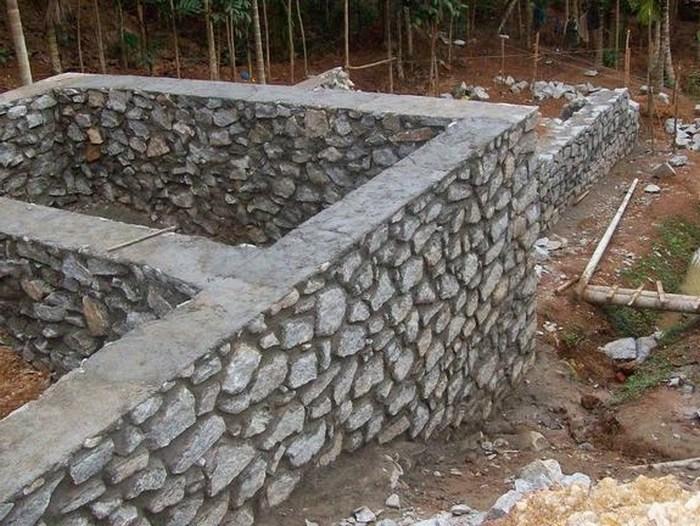 ширина ленточного фундамента под дом из бруса