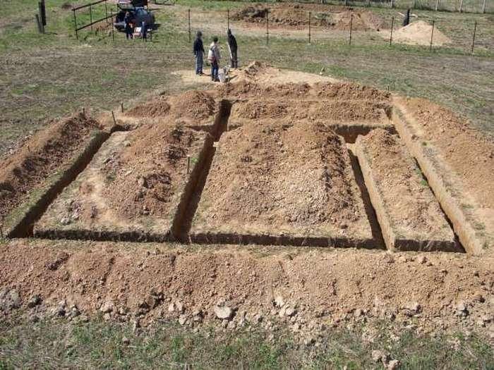 ленточный фундамент для дома из газобетона