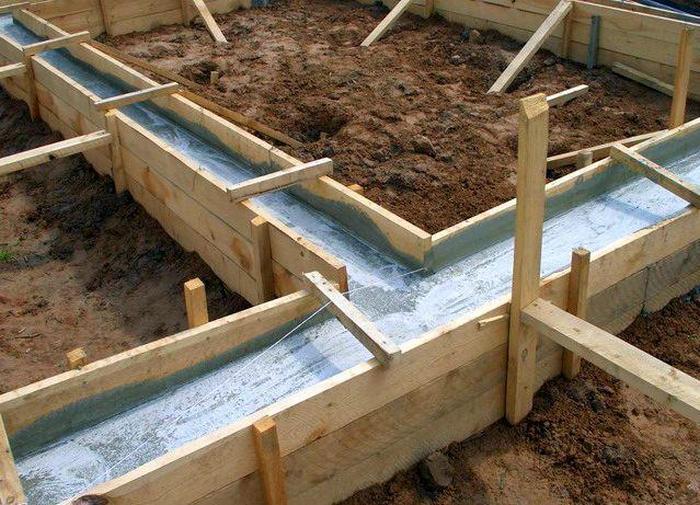 монолитная плита на ленточный фундамент
