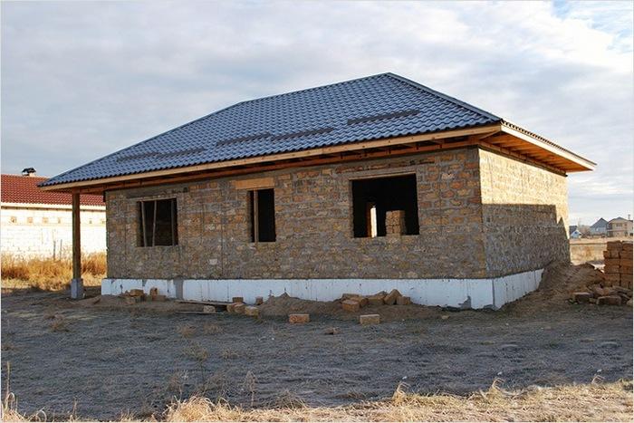 что, видео как строить дом из ракушняка лучшего