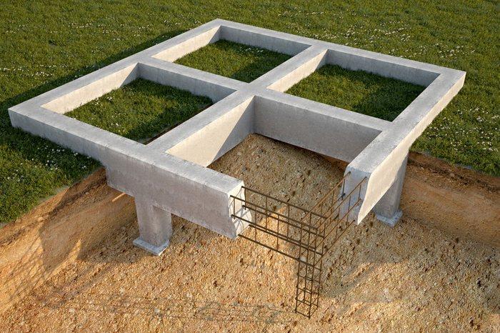 свайный фундамент для дома из газобетона