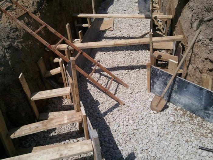 устройство бетонной подготовки под фундамент