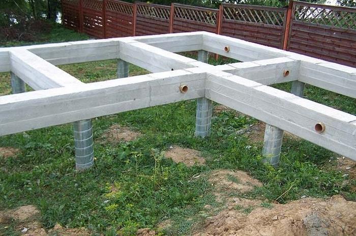 строительство домов фундамент