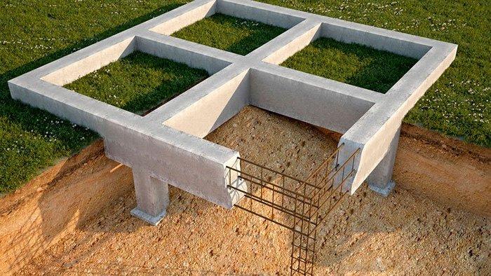 фундамент из блоков газобетонных