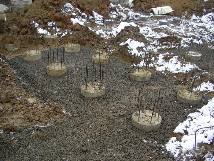 фундамент под дом из керамзитобетонных блоков