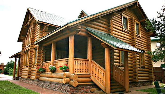 русские деревянные дома