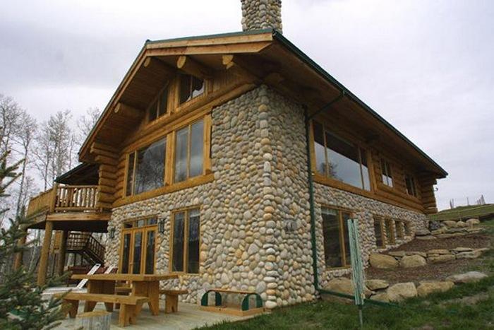 каменно деревянные дома