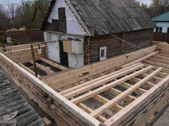 как построить новый дом на месте старого