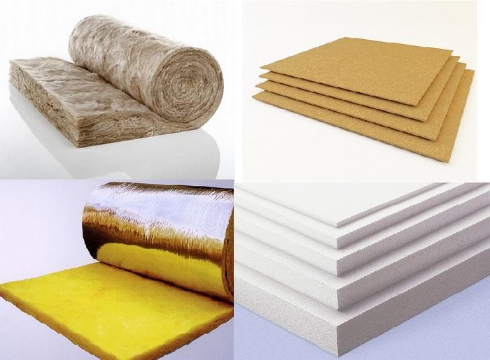 материалы для утепления дома снаружи