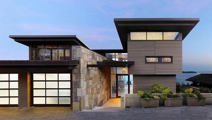 фасад дома и фото частных домов