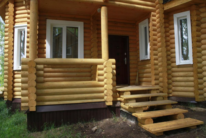 крыльцо для деревянного дома