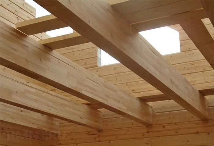 деревянный дом двухэтажный фото