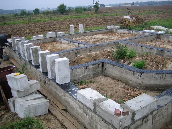 строительство дачных домов из пеноблоков