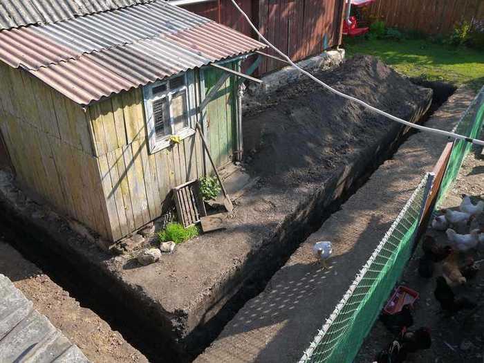построить новый дом на месте старого