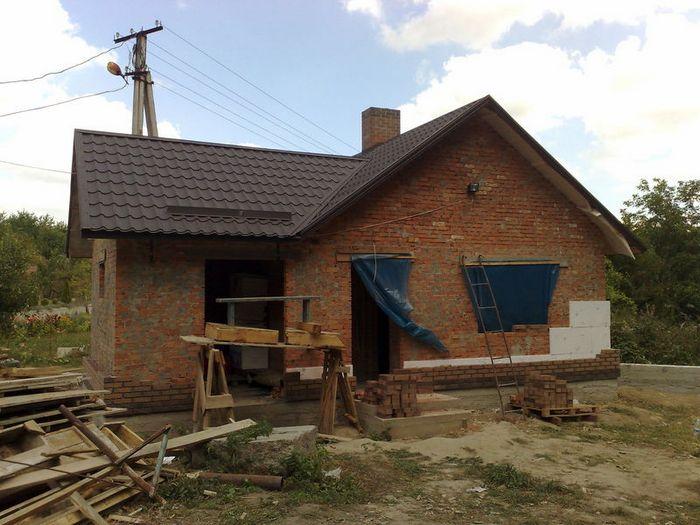 кирпичные дачные дома