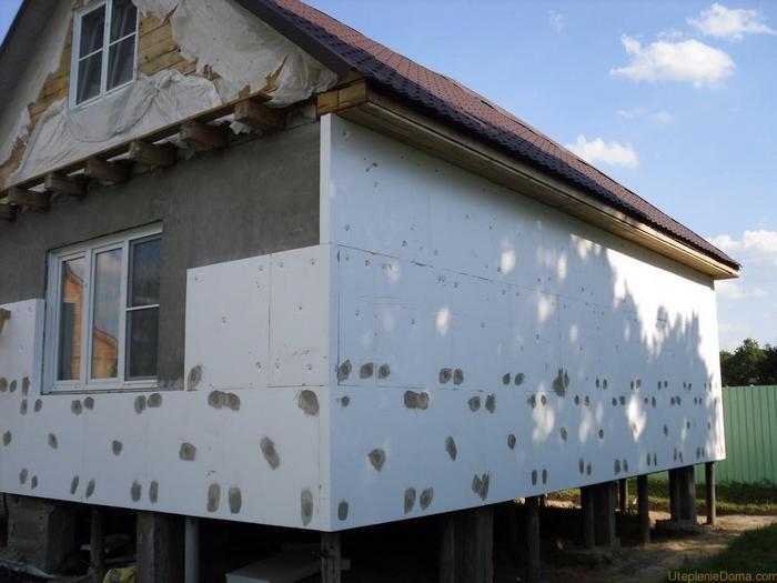 материал для утепления дома снаружи