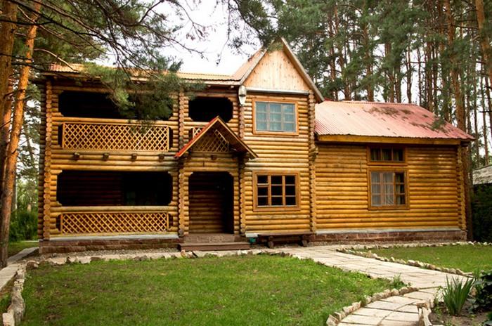 проекты деревянных домов двухэтажных фото