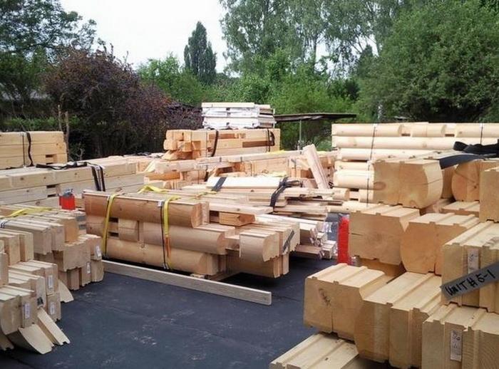 как сделать деревянный дом