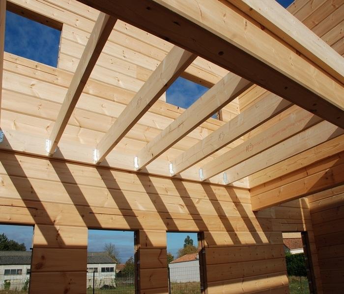 конструкция деревянного перекрытия второго этажа