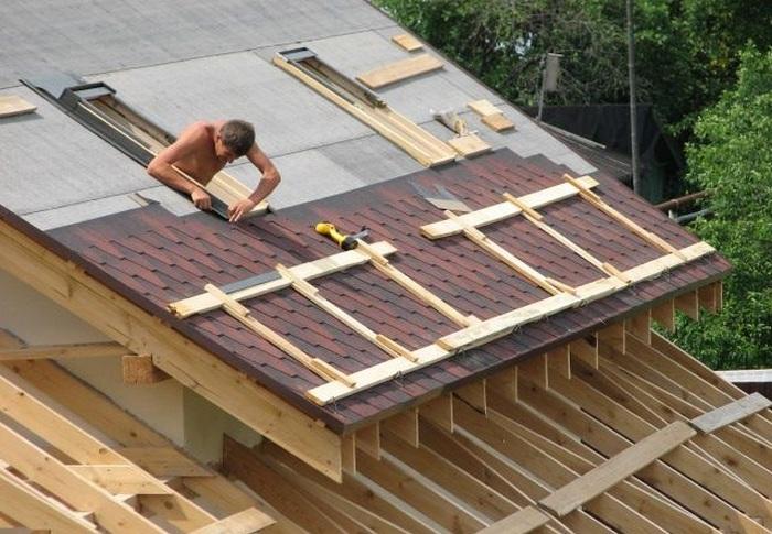 видео строительство дома из профилированного бруса