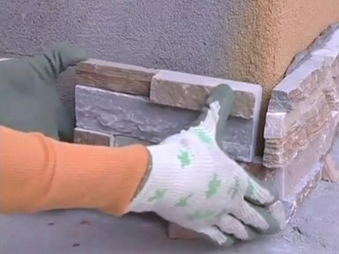декоративная кирпичная кладка своими руками