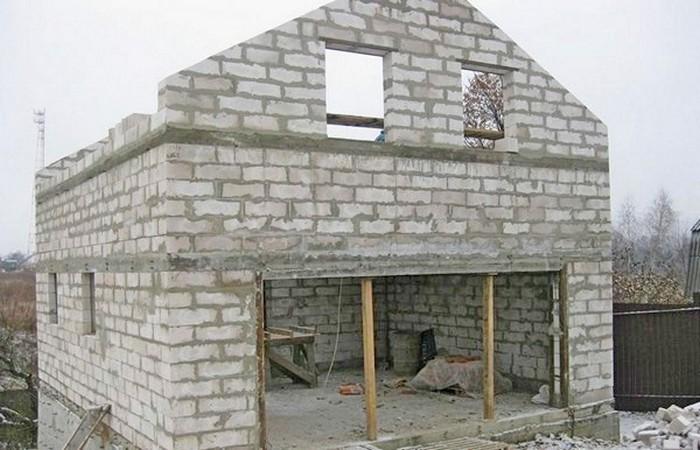 дома из пенобетона монолитные