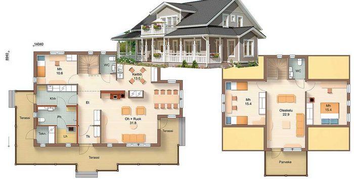 проекты небольших домов из кирпича