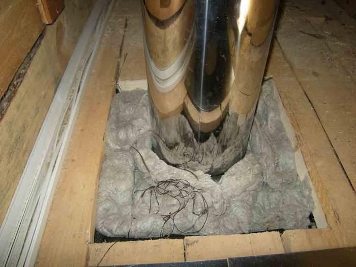 монтаж балок перекрытия в деревянном доме
