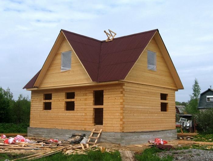 как своими руками построить дом дешево