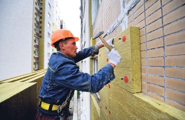 теплоизоляция стен дома снаружи