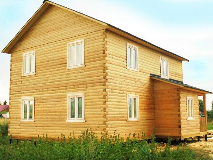 дом из профилированного бруса плюсы и минусы