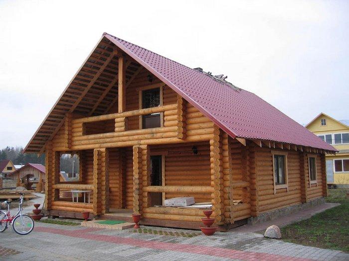 из чего построить самый теплый дом