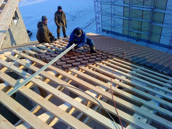 Стройка крыши своими руками без опыта