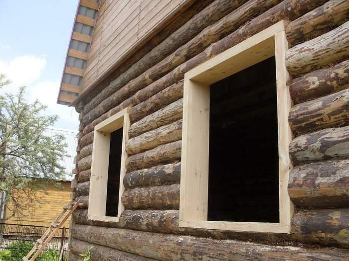 материалы для ремонта деревянного дома