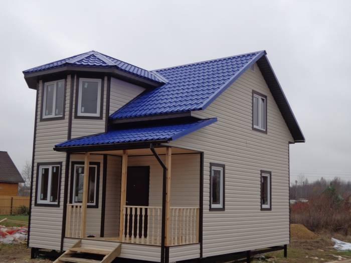 дешевые дома из бруса
