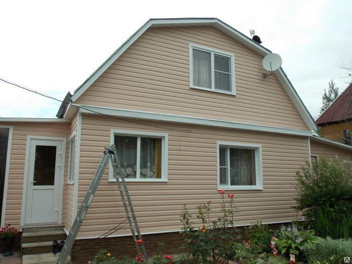 как обшить фронтон дома