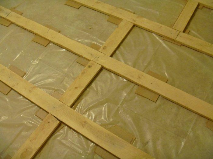 гидроизоляция пола в деревянном доме