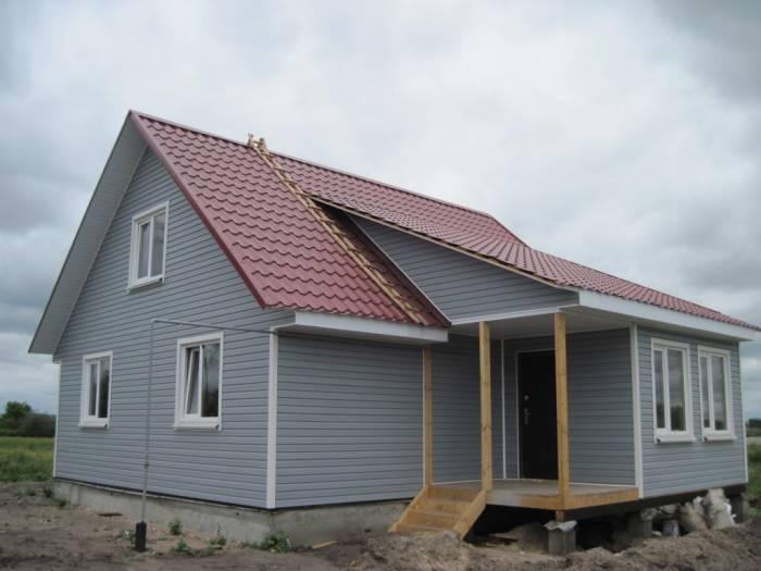 как построить дом дешево и быстро самому