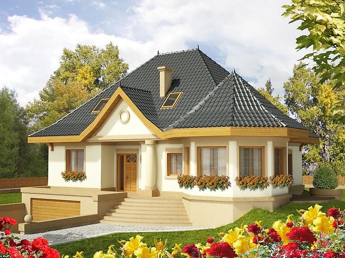 фото одноэтажных домов
