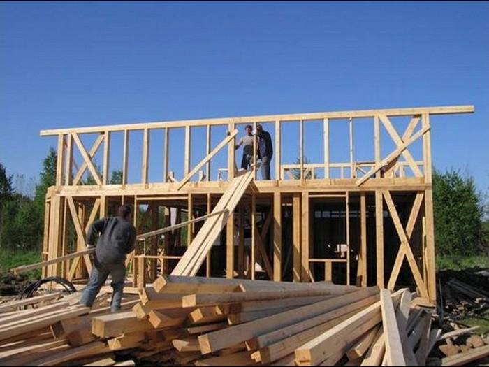 как построить дачный домик своими руками недорого