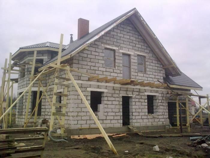 как построить дом из сибита