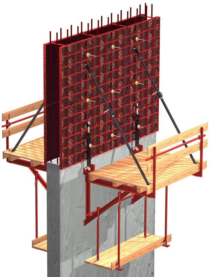 бетонирование в скользящей опалубке