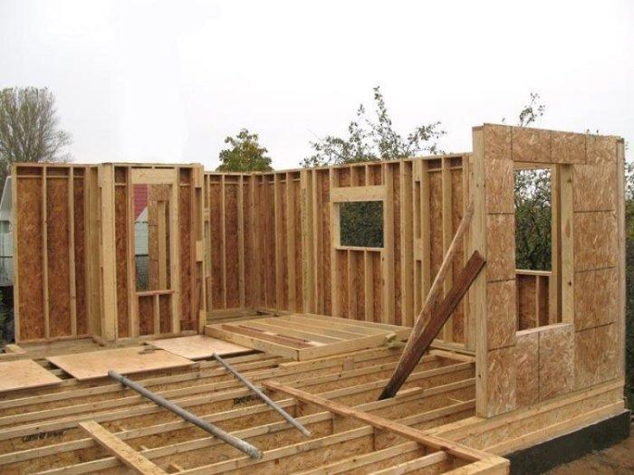 как построить дачный домик недорого своими руками