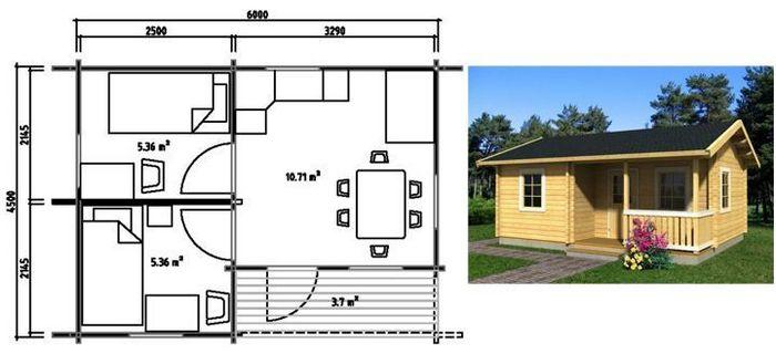 проекты домов и коттеджей монолитных