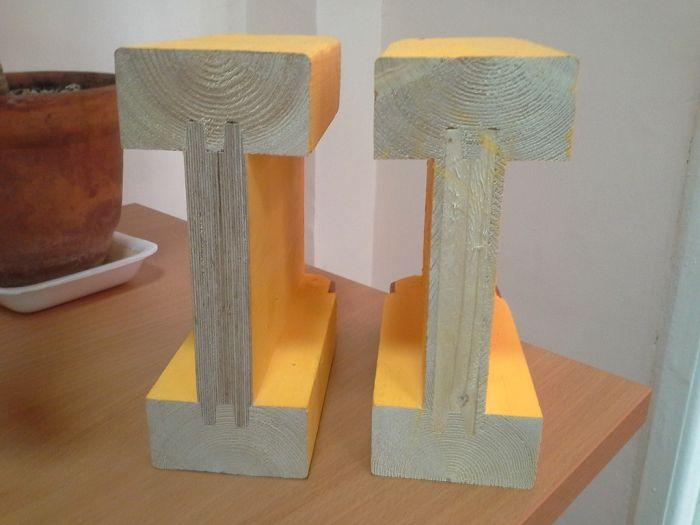 дома из двутавровых деревянных балок