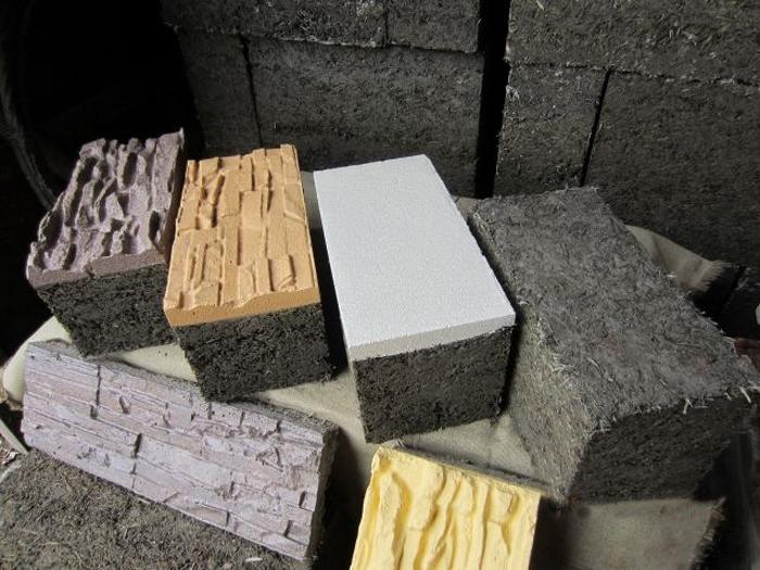 строим дом из арболита своими руками видео