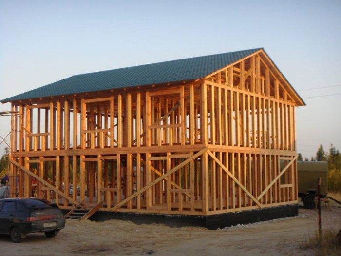 Особенности строительства каркасного дома строительство