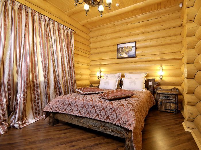 канадский дом из бревна
