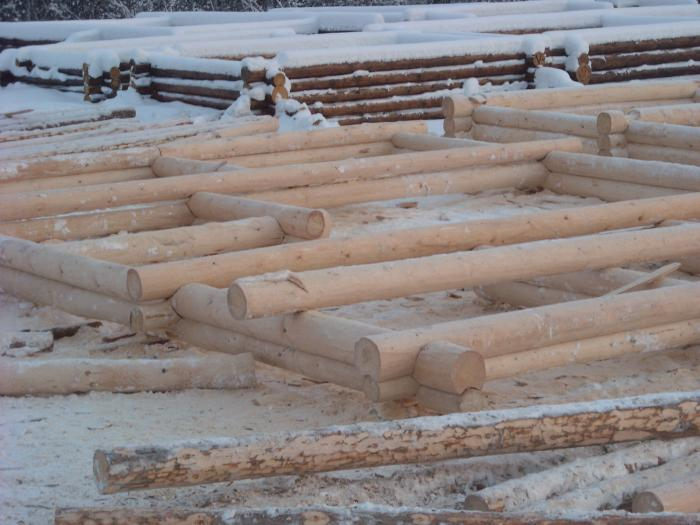 строительство домов коттеджей клееного бруса