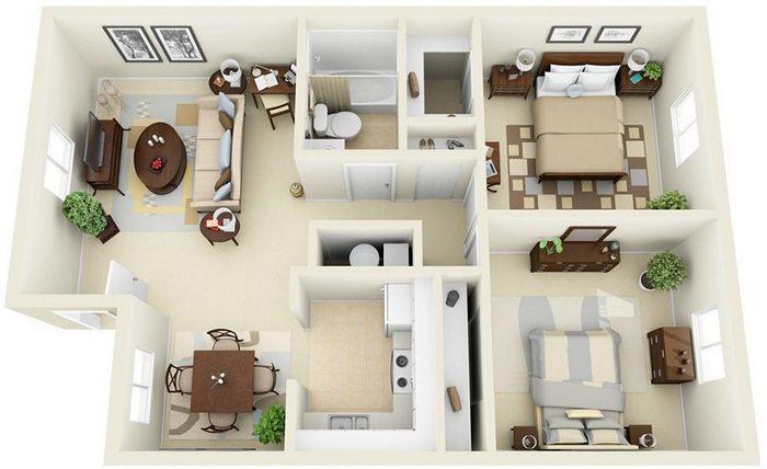 одноэтажные дома с террасой фото